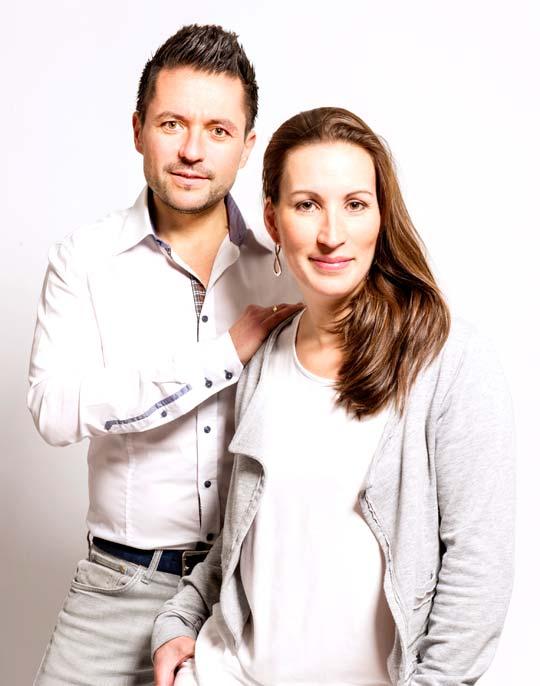 Petru und Petra Mermeze - Zahnkunstwerk